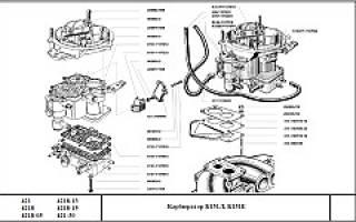 Подсос воздуха карбюратор к 151