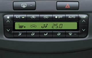 Принцип работы климат контроля в автомобиле зимой