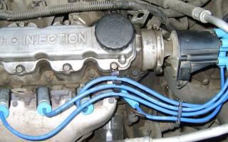 После ремонта гбц двигатель троит