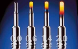 Срок службы свечей накаливания в дизельных двигателях