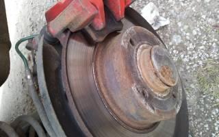 Признаки износа тормозных дисков