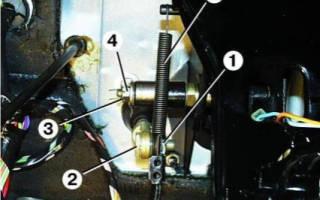 Регулировка сцепления газ 2410