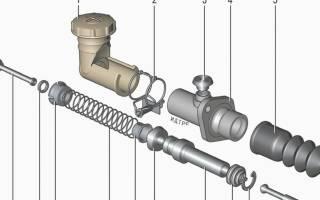 Ремонт рабочего цилиндра сцепления нива шевроле