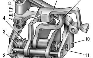 Пружина механизма выбора передач 2110