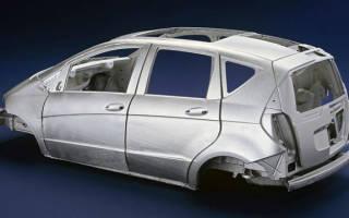 Оцинкованные кузова автомобилей список моделей