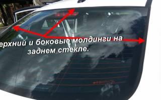 Установка молдинга на двери автомобиля