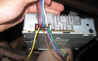 Подключение магнитолы к аккумулятору напрямую
