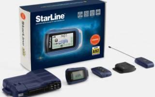 Сигнализация starline как сделать автозапуск