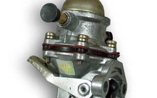 Топливный электронасос низкого давления для карбюратора