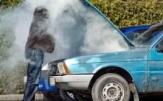 Почему машина быстро нагревается