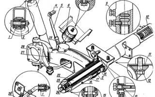 Подробный чертежи несущей рамы луаз 969м