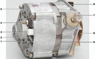 Схема подключения генератора г221а
