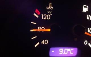 Поднимается температура двигателя на холостом ходу