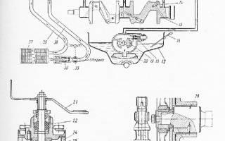 Редукционный клапан масляного насоса москвич 412