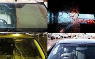 Тест антидождь для стекол