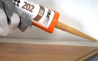 Оранжевый герметик в шприце
