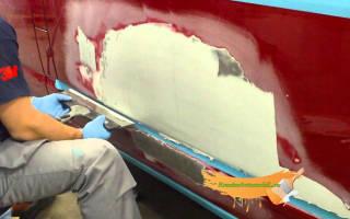 С чего начать покраску автомобиля
