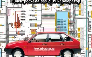 Схема проводки печки ваз 2109