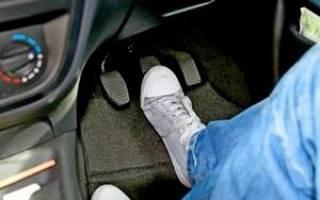 Шипение воздуха при нажатии на педаль тормоза