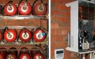 Отопление дома от газовых баллонов отзывы