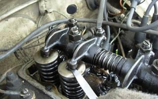 Порядок регулировки клапанов на двигателе