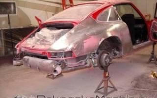 Чем смыть старую краску с автомобиля