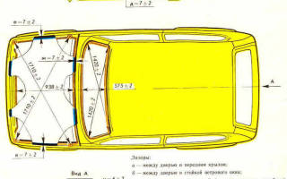 Объем багажника нива 5 дверная
