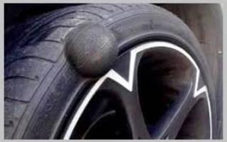 Можно ли отремонтировать грыжу на покрышке колеса