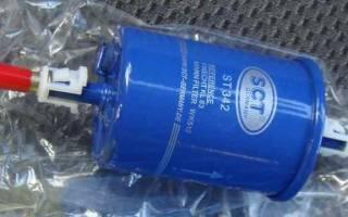 Фильтр тонкой очистки топлива ваз 2114 инжектор