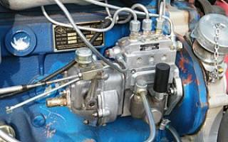 Топливный насос высокого давления дизельного двигателя