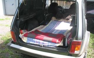 Самодельный экспедиционный багажник на ниву