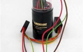 Установка конденсатора в авто