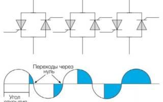 Плавный пуск однофазного асинхронного двигателя