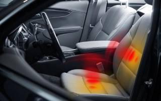 Установка подогрева задних сидений
