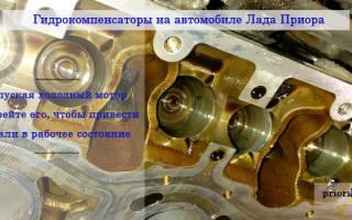 Стучат гидрокомпенсаторы какое масло лучше залить