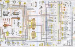 Схема комбинации приборов ваз 21214 нива инжектор