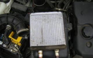 Снятие радиатора отопителя приора