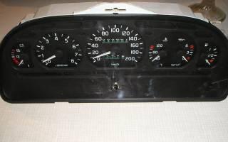 Приборная панель газ 3110 обозначения