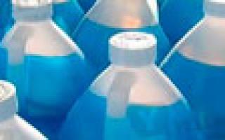 Незамерзающая жидкость для омывателя стекол