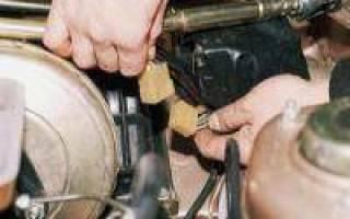 Ремонт трубки омывателя заднего стекла ваз 2111