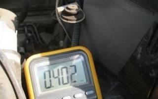 Проверка электровентилятора системы охлаждения