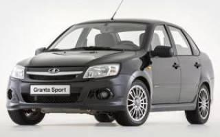 Технические характеристики автомобилей лада гранта